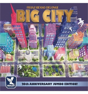 Big City 20th Anniversary Brettspill Jumbo Edition