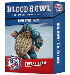 Blood Bowl Cards Dwarf Team
