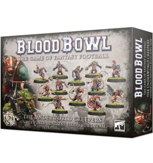 Blood Bowl Team The Underworld Creepers Skaven/Goblin Blood Bowl Team