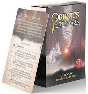 D&D Objects of Intrigue Dungeon Deck Dungeons & Dragons - Random Encounters