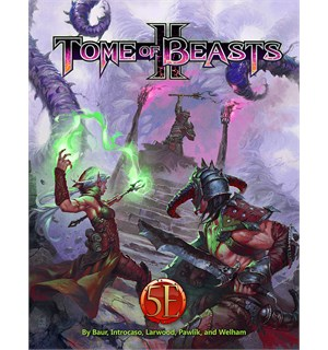 D&D Suppl. Tome of Beasts 2 Dungeons & Dragons Supplement