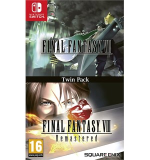 Final Fantasy VII/VIII Remastered Switch Final Fantasy 7 & 8 Remastered