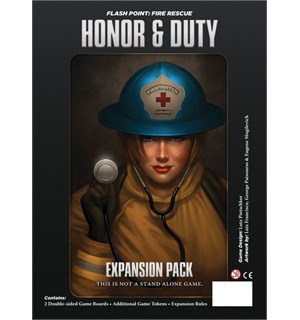Flash Point Honor & Duty Expansion Utvidelse til Flash Point Fire Rescue