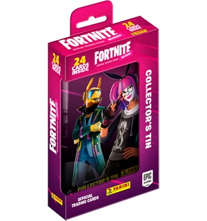 Fortnite TCG Reloaded Collectors Tin 24 samlekort + tinnboks