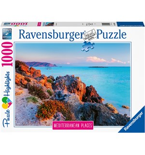 Hellas 1000 biter Puslespill Ravensburger Puzzle