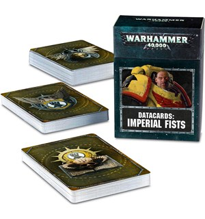 Imperial Fists Datacards - 2019 Edition Warhammer 40K