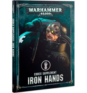 Iron Hands Codex Supplement Warhammer 40K