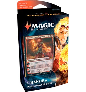 Magic Core 2021 PW Deck Chandra Planeswalker Deck - Rød