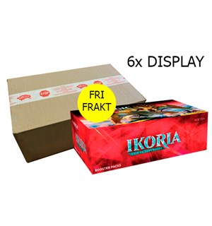 Magic Ikoria 6 stk Display Lair of Behemoths - Fri Frakt/Full case