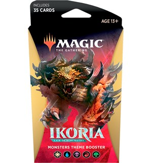 Magic Ikoria Theme Booster Monster Lair of Behemoths - 35 monster kort