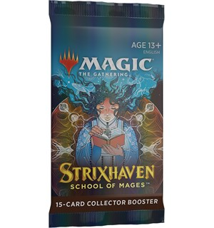 Magic Strixhaven COLLECTOR Booster 15 kort - FOR SAMLERE