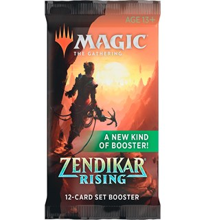 Magic Zendikar Rising SET Booster 12 kort