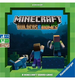 Minecraft Builders & Biomes Brettspill