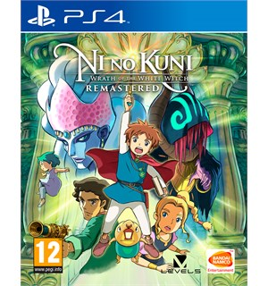 Ni No Kuni Wrath of Remastered PS4 Wrath of the White Witch