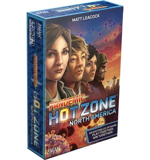 Pandemic Hot Zone Norsk Brettspill North America