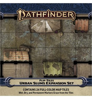 Pathfinder Flip Tiles Urban Slums Exp For Flip-Tiles Urban Starter Set