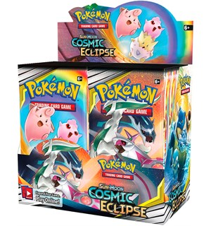 Pokemon Cosmic Eclipse Display 36 boosterpakker á 10 kort pr pakke