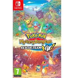 Pokemon Mystery Dungeon Rescue Switch Rescue Team DX