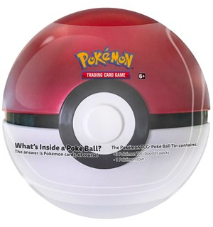 Pokemon Tin Pokeball (Rød) Spring 2020 Edition