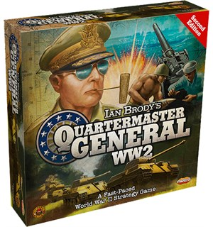 Quartermaster General WW2 Brettspill Second Edition