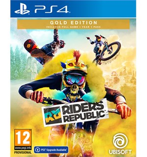 Riders Republic Gold Edition PS4 Inkluderer Year One Season Pass