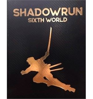 Shadowrun 6th Edition Core Rulebook LE Sixth World Regelbok - Limited Edition