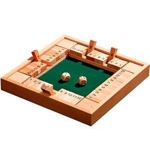 Shut the Box 12er 4 Sider 4 spillere