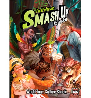 Smash Up World Tour Culture Shock Exp Utvidelse til Smash Up