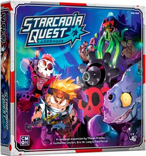 Starcadia Quest Arrrmada Expansion Utvidelse til Starcadia Quest