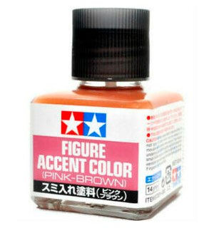 Tamiya Panel Line Accent Color Figure Pink-Brown