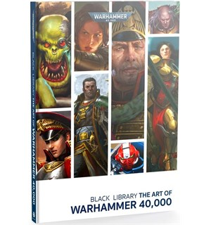 The Art of Warhammer 40K (Bok)