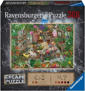 The Green House 368 biter Puslespill Ravensburger Escape Room Puzzle