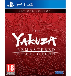 The Yakuza Remastered Collection PS4 Day One Edition med ekstra innhold