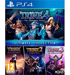 Trine Ultimate Collection PS4 Inneholder Trine 1-4