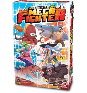 Ultra Deluxe 2D Mega Fighter Brettspill Ultra Deluxe 2D Arcade Mega Fighter