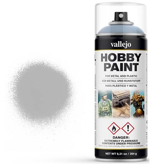 Vallejo Hobby Paint Spray Grey 400ml Sprayboks - Surface Primer