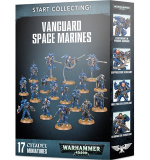 Vanguard Space Marines Start Collecting Warhammer 40K