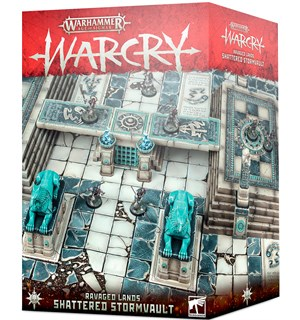 Warcry Terrain Shattered Stormvault Warhammer Age of Sigmar - Ravage Lands
