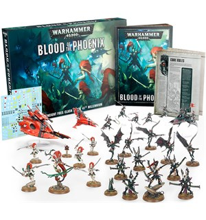 Warhammer 40K Blood of the Phoenix Craftworlds vs Drukhari Startsett