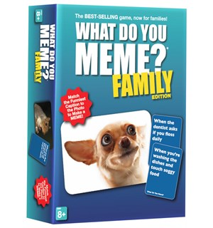 What Do You Meme Family Ed Brettspill Familieutgave av What Do You Meme