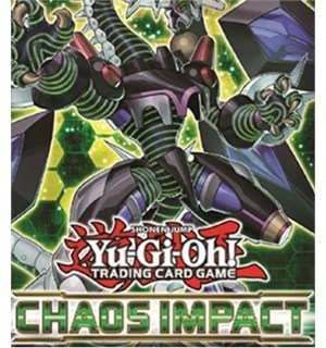 Yu Gi Oh Chaos Impact Special Ed Booster 3 boosterpakker + 1 Super Rare kort