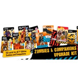 Zombicide 2nd Edition Zombies/Companions Zombies & Companions Upgrade Kit