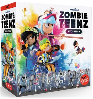 Zombie Teenz Evolution Brettspill
