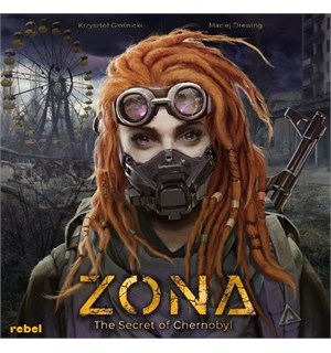 Zona The Secret of Chernobyl Brettspill