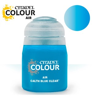 Airbrush Paint Calth Blue Clear 24ml Maling til Airbrush