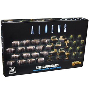 Aliens Assets & Hazards 3D Gaming Set Utvidelse til Aliens Another Glorious