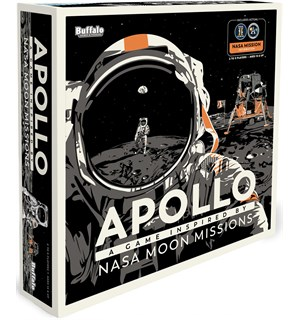 Apollo Brettspill A Game Inspired By NASA Moon Missions