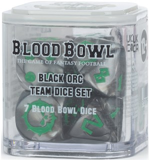 Blood Bowl Dice Black Orc Team