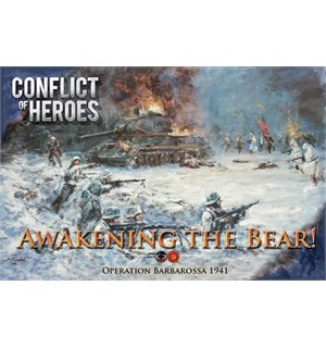 Conflict of Heroes Awakening the Bear Third Edition Operation Barbarossa 1941