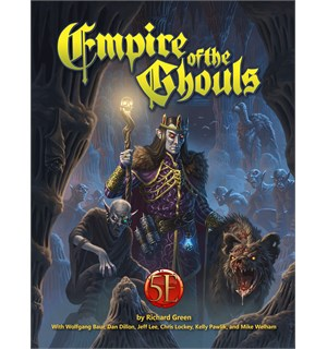 D&D Adventure Empire of the Ghouls Dungeons & Dragons Scenario Level 1-13